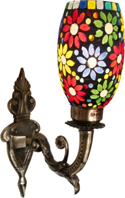 Weldecor Antiqua Brasso Big Flower Night Lamp