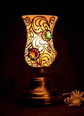 Gojeeva Antique Mosaic Work Decorative 12 Table Lamp