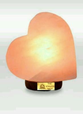 The Himalayan Salt Heart Table Lamp