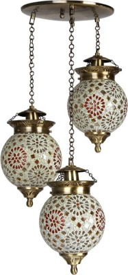 Fos Lighting Chandni Tilak Set Of 3 Hanging Lights Night Lamp