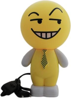Tootpado Smiley Cartoon LED Desk - 1m195 - Table , Study (Size: 12x12x24 cm) Night Lamp