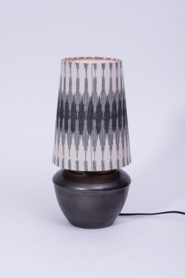 Courtyards Patola Antique With Multi Color Shade Table Lamp