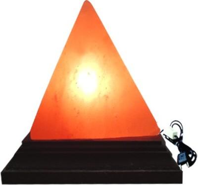 Dharohar The Heritage Pyramid Rock Salt Lamp Table Lamp
