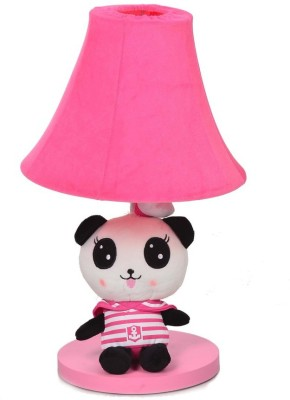 Scrafts Soft Toy Children,S Panda Pink Small Table Lamp