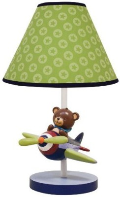 Lambs & Ivy Baby Aviator with Shade and Bulb Night Lamp