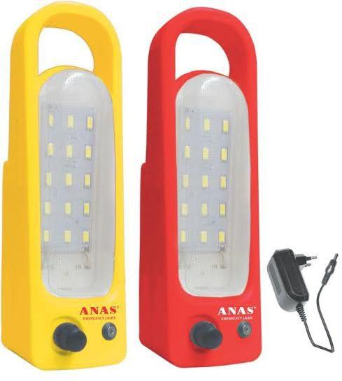 View Anaslight 2PH-C Emergency Lights(Red, Yellow) Home Appliances Price Online(Anaslight)