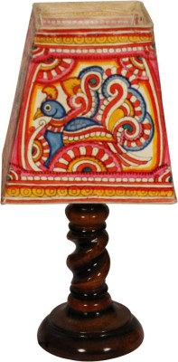 Nayahub Peacock Square Table Lamp