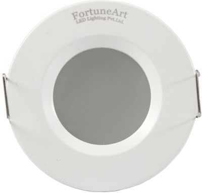 FortuneArrt 5 Watt Round LED Down Light (Mid White) Night Lamp