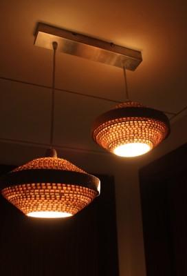 Sylvn Studio Flying Saucer Twin Night Lamp