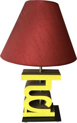 Sylvn studio Heavenzy HA letter lamp Maroon Table Lamp
