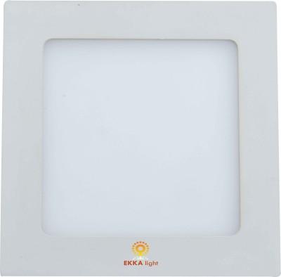 Ekka 9W LED Recessed Slim Panel Light (Square) Night Lamp