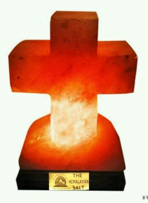 The Himalayan Salt Cross Shape Table Lamp
