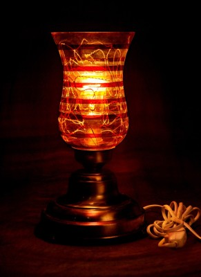 Gojeeva Antique Mosaic Work Decorative 11 Table Lamp