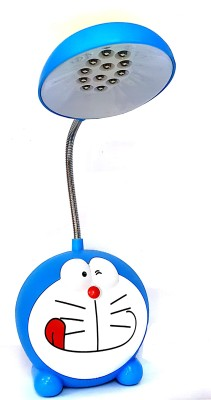 SRVSOFT Doraemon study led emergency light Study Lamp(18 cm, Blue)