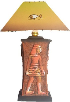 Kalaplanet Handpainted - Egyptian King Table Lamp