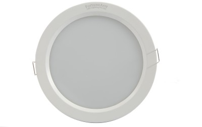 FortuneArrt 25 Watt Round LED Down Light (Warm White) Night Lamp
