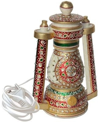 Handicrafts Paradise Cut Work Meena Lantern Table Lamp
