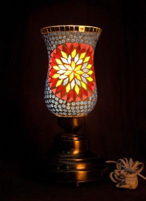 Gojeeva Antique Mosaic Work Decorative Table Lamp