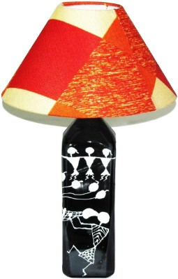 Aadhya Creations DB Party Time Shades of Orange Table Lamp