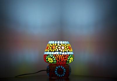 Smile2u Retailers Rajasthani Stone Mosaic Work Night Lamp