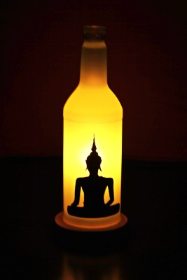Kavi The Poetry Art Project Fl Buddha Table Lamp