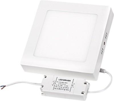 Megaway LED 18W Surface Mounted Panel Light square CW Night Lamp