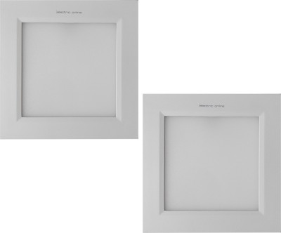 EO Electric Online 18w Square Pure White Panel Ceiling Light Night Lamp