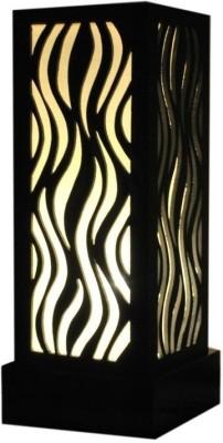 DecorNation Flame Pattern Table Lamp