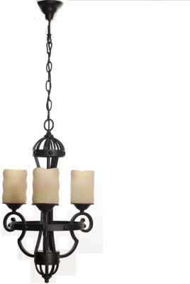 Adithya Lamps Antique Brown & Antique mist Chandelier Night Lamp