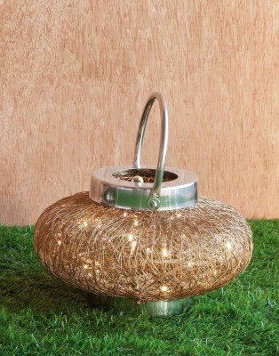 Orange Tree Marky wire Gold Table Lamp