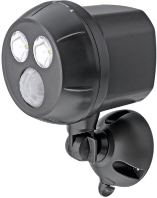 Mr Beams 300-Lumen Weatherproof Wireless Battery Powered LED Ultra Bright Spotlight with Motion Sensor Night Lamp