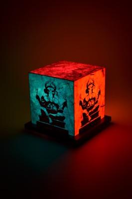 Shady Ideas Pop Art Ganesh Table Lamp