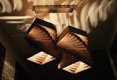 Sylvn Studio Helix Twins Pendant Night Lamp