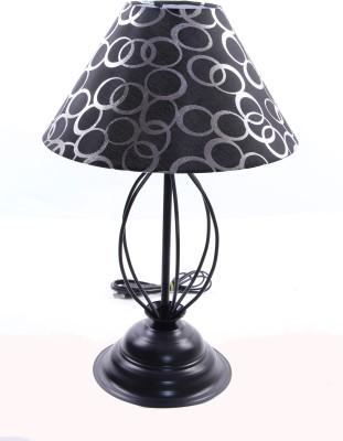 Flashh Strings Black 9 Table Lamp