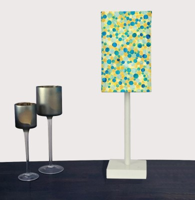 Nutcase Yellow Confetti Table Lamp