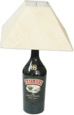 Aadhya Creations Baileys With Square White Shade Table Lamp