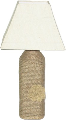 Aadhya Creations BL Off White Square Magic Table Lamp