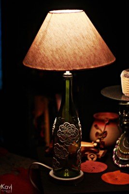 Kavi The Poetry Art Project Thought Cloud Table Lamp