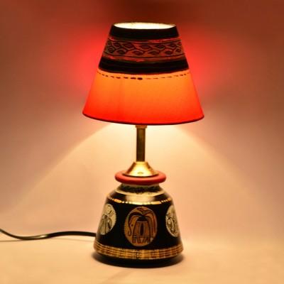 ExclusiveLane Warli Handpainted Baby Table Lamp