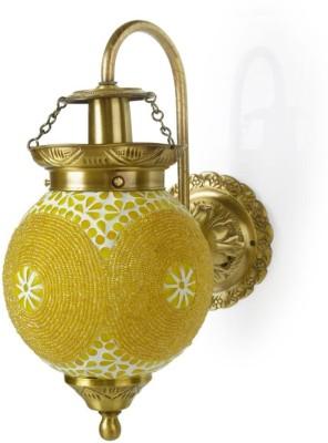 Fos Lighting Chandni Gola Energy Saver Brass Night Lamp