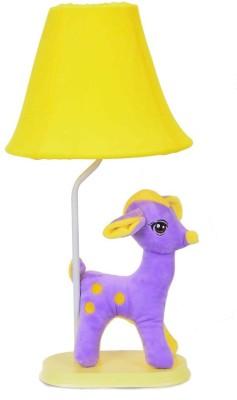 Scrafts Soft Toy Children,S Deer Yellow/ Purple Medium Table Lamp