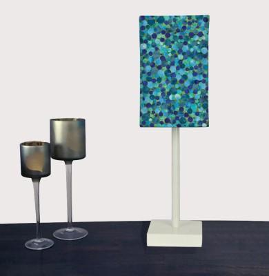 Nutcase Blue Confetti Table Lamp