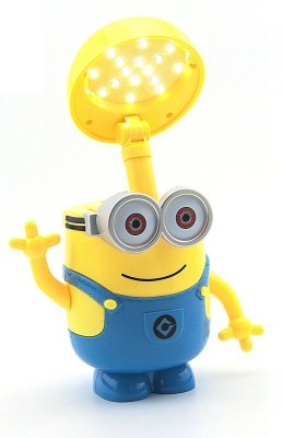 BonZeal Minion Cartoon with Piggy Bank Table Lamp