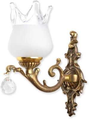 Fos Lighting Antique Crystal Ball Single Night Lamp