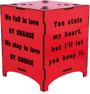 Saibhir Love quotes Table Lamp