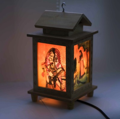 Craftkriti Hut Shaped Table Lamp
