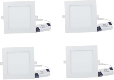 Acorr Square White LED Panel Night Lamp
