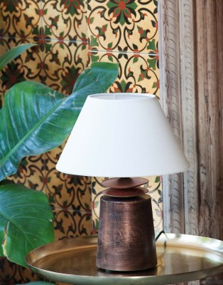 Orange Tree kama Copper Table Lamp