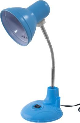 Allora Cutex Blue Metal Table Lamp