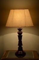 Yashasvi Decor Table Lamp(40.64 cm, Cream)
